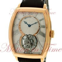 Breguet Heritage Toubillon, Silver Dial - Rose Gold on Strap