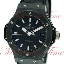 Hublot Big Bang Automatic 38mm, Black Carbon Dial - Ceramic on...