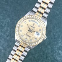 Ρολεξ (Rolex) Tridor Day-Date Diamond Watch Ref. 18129