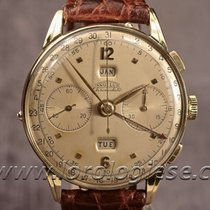 Angelus Chronodato Original 18kt. Gold Triple Calendar...
