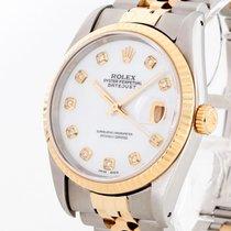 Rolex Oyster Perpetual Datejust 36 mm Stahl/Gold an Jubiléband...