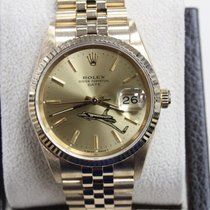 Rolex 15238 Date Oyster Perpetual 34MM 18K Yellow Gold