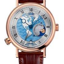 Breguet Brequet Hora Mundi 5717 18K Rose Gold Men's Watch