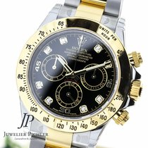 Rolex Cosmograph Daytona  Steel & Gold Diamond Dial NEW