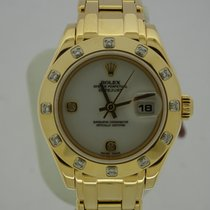 Rolex Lady Pearlmaster Diamond Lunette