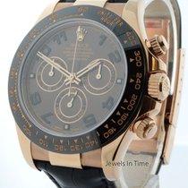 Rolex Daytona Chronograph 18k Rose Gold Watch Ceramic Box/Pape...