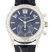 百達翡麗 (Patek Philippe) Complications 18k White Gold With...