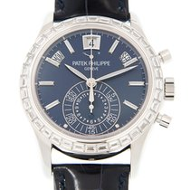 Patek Philippe Complications 18k White Gold With Diamond Dark...