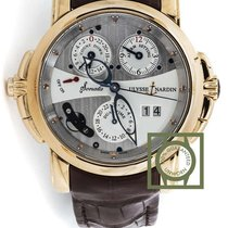 Ulysse Nardin Sonata Cathedral 42mm Grey Dial Pink Gold NEW