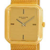 Patek Philippe Gent's 18K Yellow Gold  Square Tank Style...