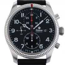 Tutima Grand Flieger Classic Chronograph Stahl Automatik...