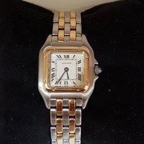 Cartier Panther Or et Acier gold quartz