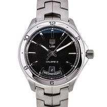 TAG Heuer Link Calibre 5 Day Date Black