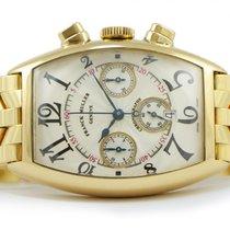 Franck Muller 18k Yellow Gold Casablanca Chronograph 5850 CC...