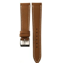 Vintagestraps 20mm Tan Brown French Calfskin Leather Luxury...