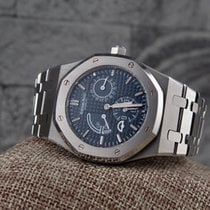 Audemars Piguet Royal Oak Dual Time - 39mm Full set Dec 2016