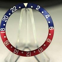 Rolex Inlay für GMT 16750 Seriph Font normal blue back