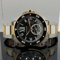 Cartier Calibre de Diver Watch 42mm 18k Rose Gold / Steel...