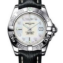 Breitling a71356L2/a708-1lts Galactic 32 Ladies Quartz in...
