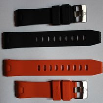 Omega Seamaster rubber watchband watch band 22mm and 20mm