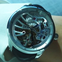 Ulysse Nardin Platinum Skeleton Tourbillon Manufacture - 1709-129