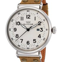 Glycine F104 White Dial Automatic Men's Watch