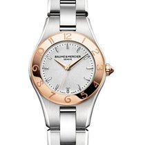 Baume & Mercier MOA10014 Linea Ladies Two Tone in Steel...