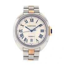 Cartier Men's Cartier Cle de Cartier 18k Gold and Stainles...