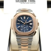 Patek Philippe 5980/1ar Steel and Rose Gold Men Nautilus...