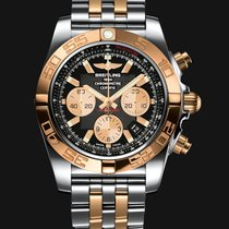 Breitling Chronomat 44 Steel Gold