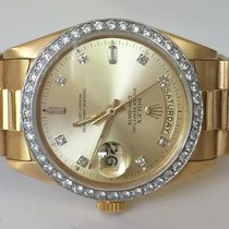 Rolex CERTIFIED $28.500 MENS LARGE PRESIDENTIAL 18 KT SOLID GOLD