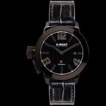 U-Boat CLASSICO CERAMIC BK/BK DIAMONDS 42MM