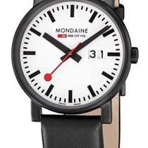 Mondaine Unisex Quartz 40mm EVO BIG A627.30303.61SBB