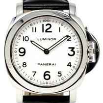 Panerai PAM 114 Luminor Base 44mm White Arabic Stainless Steel...