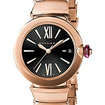 Bulgari LUP33BGGD Lucea Pink Gold Automatic Ladies Watch