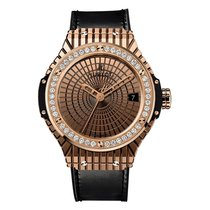 Hublot Big Bang Caviar 41mm Automatic 18K Rose Gold Mens Watch...