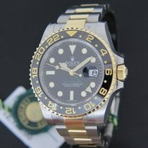 Rolex Oyster Perpetual GMT Master II Gold/Steel NEW