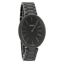 Rado Esenza Touch Ladies Black Ceramic Swiss Quartz Watch...