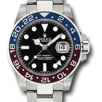 Rolex 116719 Date GMT-Master II 18K White Gold & Ceramic...