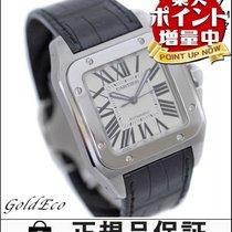 カルティエ (Cartier) 【カルティエ】サントス100LMメンズ腕時計W20073X8ステンレスレザーオートマ【中古】...