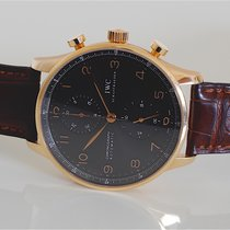 IWC Portuguese Chronograph Rose Gold