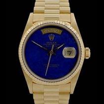 Rolex Day-Date -Lapislazuli- Ref.: 18038 - Gelbgold - Full Set...