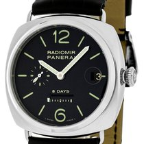 Panerai PAM00268 Radiomir 8 Days Manual Wind Black Dial Men...
