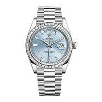 Rolex Day-Date 40 Platinum Automatic Diamonds