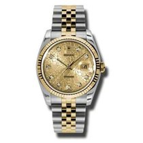 Rolex Unworn 116233 Datejust 36mm in 2-Tone with Fluted Bezel...