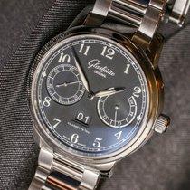 Glashütte Original Senator Observer Steel Bracelet White Dial...