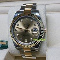 롤렉스 (Rolex) Datejust 41mm Champagne Diamond 116333