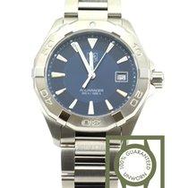 TAG Heuer Aquaracer 300m Quartz steel 40,5mm blue dial NEW