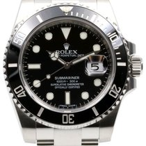 Rolex Submariner Ceramic 116610 116610LN Men's 40mm Black...