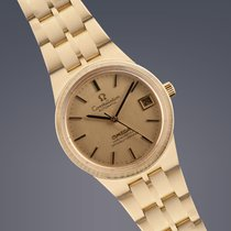 Omega Constellation 18ct gold automatic on bracelet